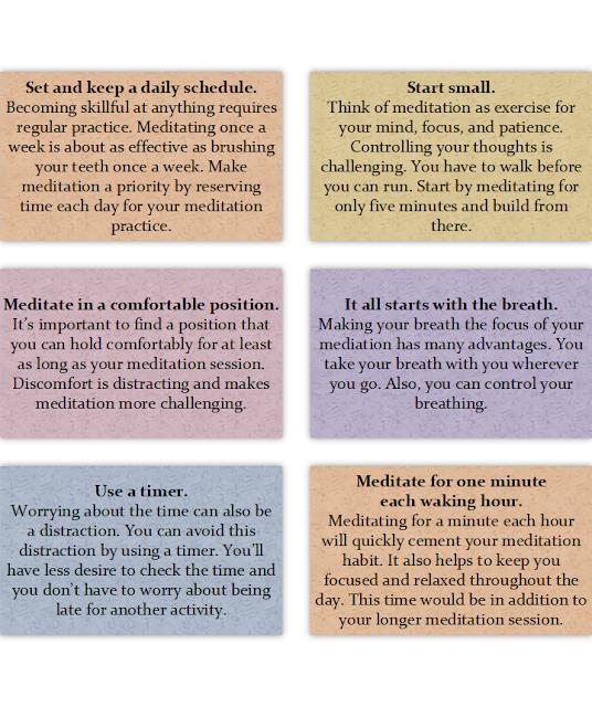 10 Guidelines for Meditation Success